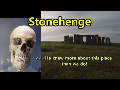 Stone henge,Skeletons, Ancient Britain, English Heritage. Wiltshire man visits:)