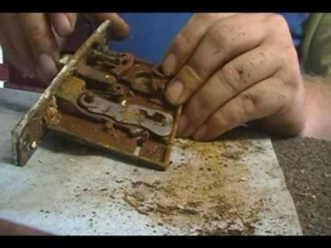 Servicing an antique lock youtube - Old fashioned interior door locks ...