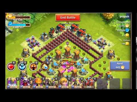 Castle Clash Quest Board Strategy
