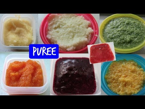 Puree Baby Food Recipes Stage 3