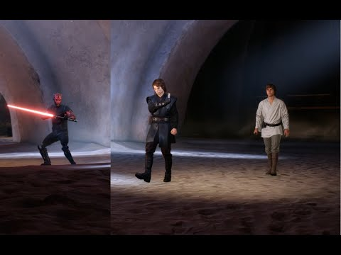 Battlefront 2 | EPIC 1 Vs 2 Using Maul's 'Old Master' Skin