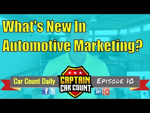 #CarCountDaily | Episode 10 | What's New In Auto Repair Marketing?