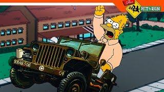 🚀 УЛЕТНЫЙ ДЕД СИМПСОН ► Simpsons Hit and Run прохождение
