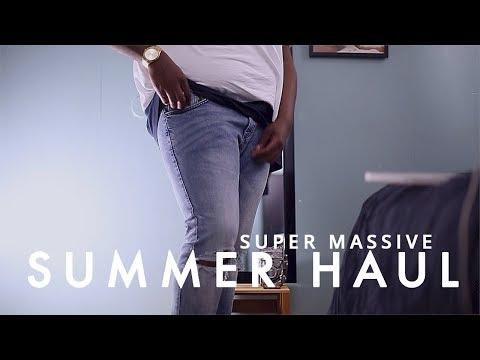 plus size mens fashion try-on haul | summer 2017 | bryant devon