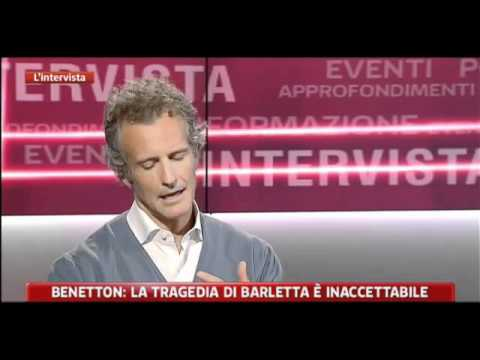 Alessandro Benetton - Interview at SKYTG24