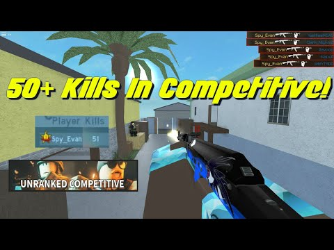 50+ Kills In Unranked Competitive! (Counter Blox)
