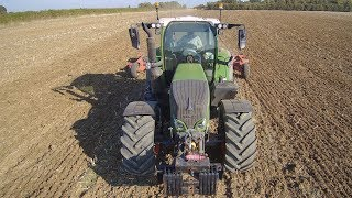 On the FENDT 724 and HORSCH JOKER for the Day