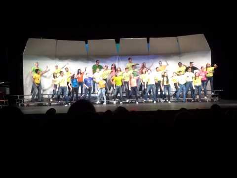 "Cyprus High School Show Choir-""You Make Me Feel Like Dancin'"""