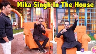 Mika Singh LIVE Sing Song In The Kapil Sharma Show |  The Kapil Sharma Show Behind The Scenes