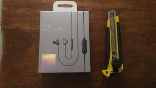 unboxing: samsung level anc