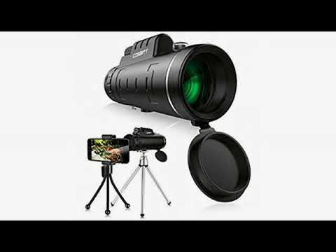 Must see gear review! monocular telescope 16x52 dual focus monocular