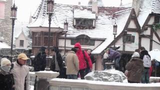 DisneyLand paris Noël Sous La Neige  (HD)