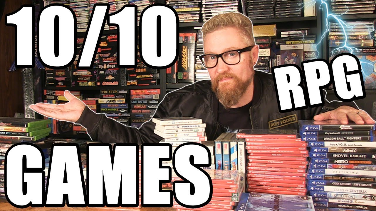 10/10 RPG VIDEO GAMES - Happy Console Gamer