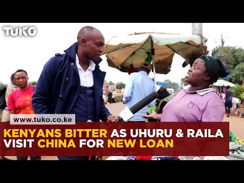 Kenyans bitter after Uhuru and Raila go to China for new loan | Tuko TV