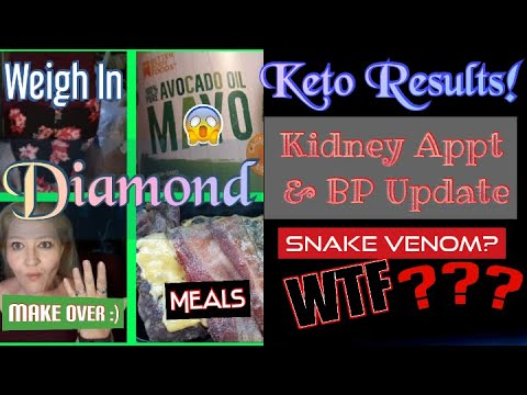 keto-results,-weigh-in,-meals.-kidney-update,-snake-venom-#keto-update