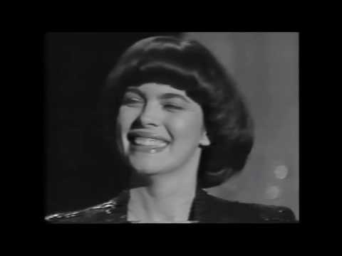 1985 Wim Thoelke im Interview mit Mireille Mathieu