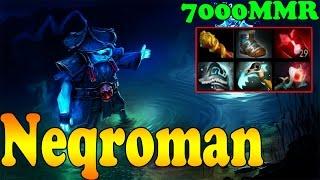 Dota 2 - Neqroman 7000 MMR Plays Storm Spirit Vol 3 - Pub Match Gameplay!