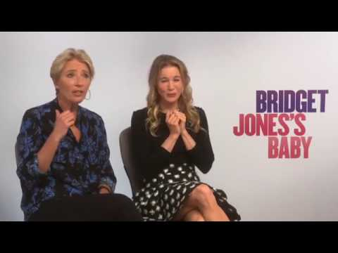 Bridget Jones Baby  Marie Claire meets Rénee Zellweger and Emma Thompson