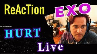 Reaction to EXO - HURT - LIVE // Classical Guitarist Reacts