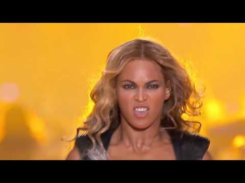 SASHA FIERCE is no diva- appears live (or dead) on stage.mp4