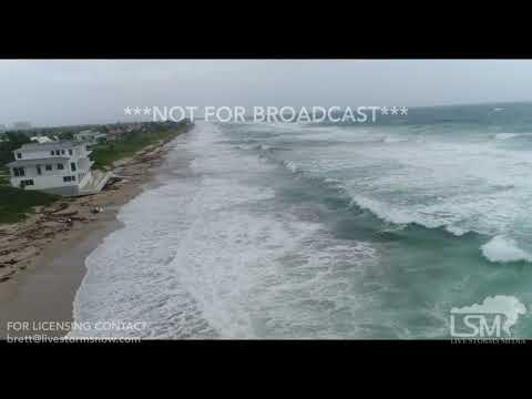 9 9 17 Boynton Beach, FL Dramatic Drone Footage Shows Increa