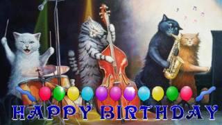 С Днем Рождения ! С Днем Рождения веселое поздравление .