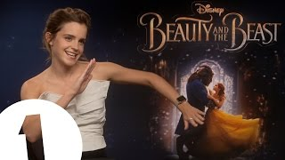 Emma Watson on Beauty and the Beast dancing: 'There's some very good knee-slapping'