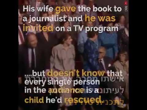 לא יאומן, הציל 669 ילדים בשואה ושמר על הסוד 50 שנה