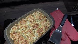 Flammkuchen Schnecken Vorwerk®TM5 Pampered chef®