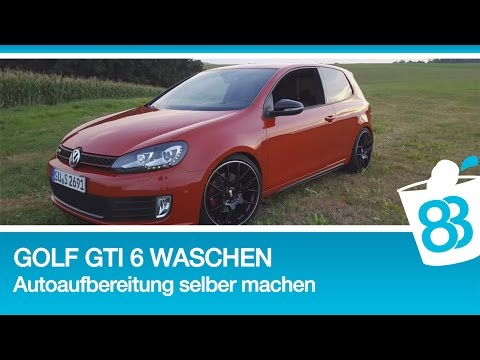 golf 6 gti waschen autoaufbereitung selber machen metoo. Black Bedroom Furniture Sets. Home Design Ideas