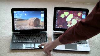 HP TouchSmart tm2 Tablet PC Video Review - Part One