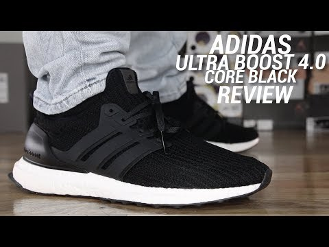 ADIDAS ULTRA BOOST 4.0 CORE BLACK REVIEW