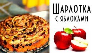 Шарлотка с яблоками и изюмом. Необычный рецепт вкуснейшего яблочного пирога.