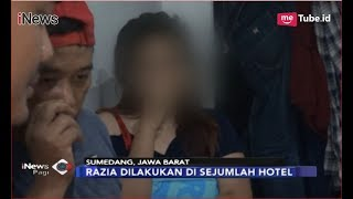 Razia Hotel di Sumedang, Pasangan Mesum Bukan Pasutri Terciduk - iNews Pagi 10/12