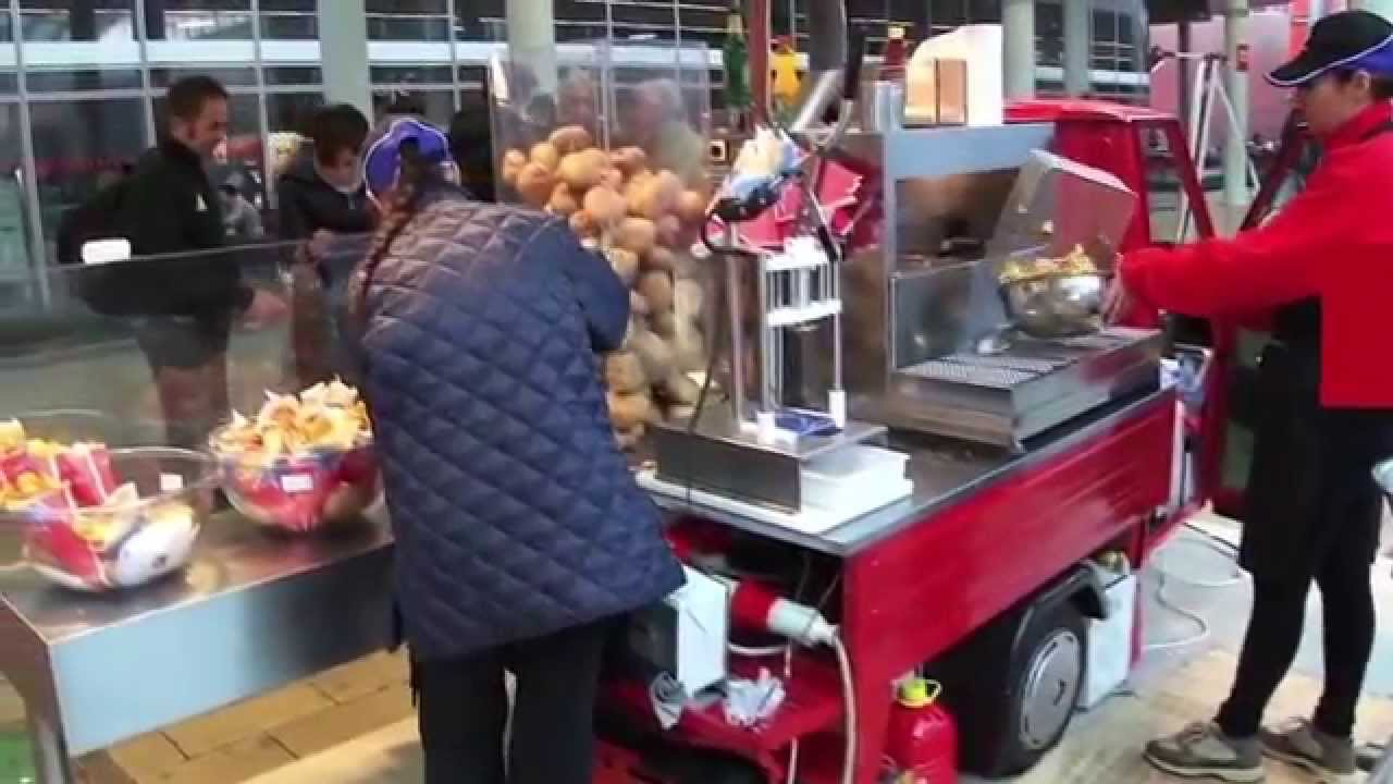 chiosco street food ape ciaochips youtube