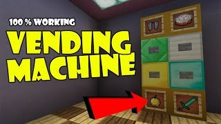Video Working VENDING MACHINE !!! Minecraft PE (Pocket Edition) MCPE Command Block Creation download MP3, 3GP, MP4, WEBM, AVI, FLV Desember 2017