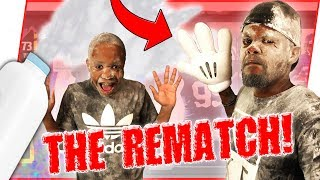 THE PIMP SLAP WAGER REMATCH VS ANNOYING LITTLE BROTHER!