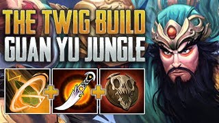 THE TWIG BUILD! Guan Yu Jungle Gameplay (SMITE Conquest)