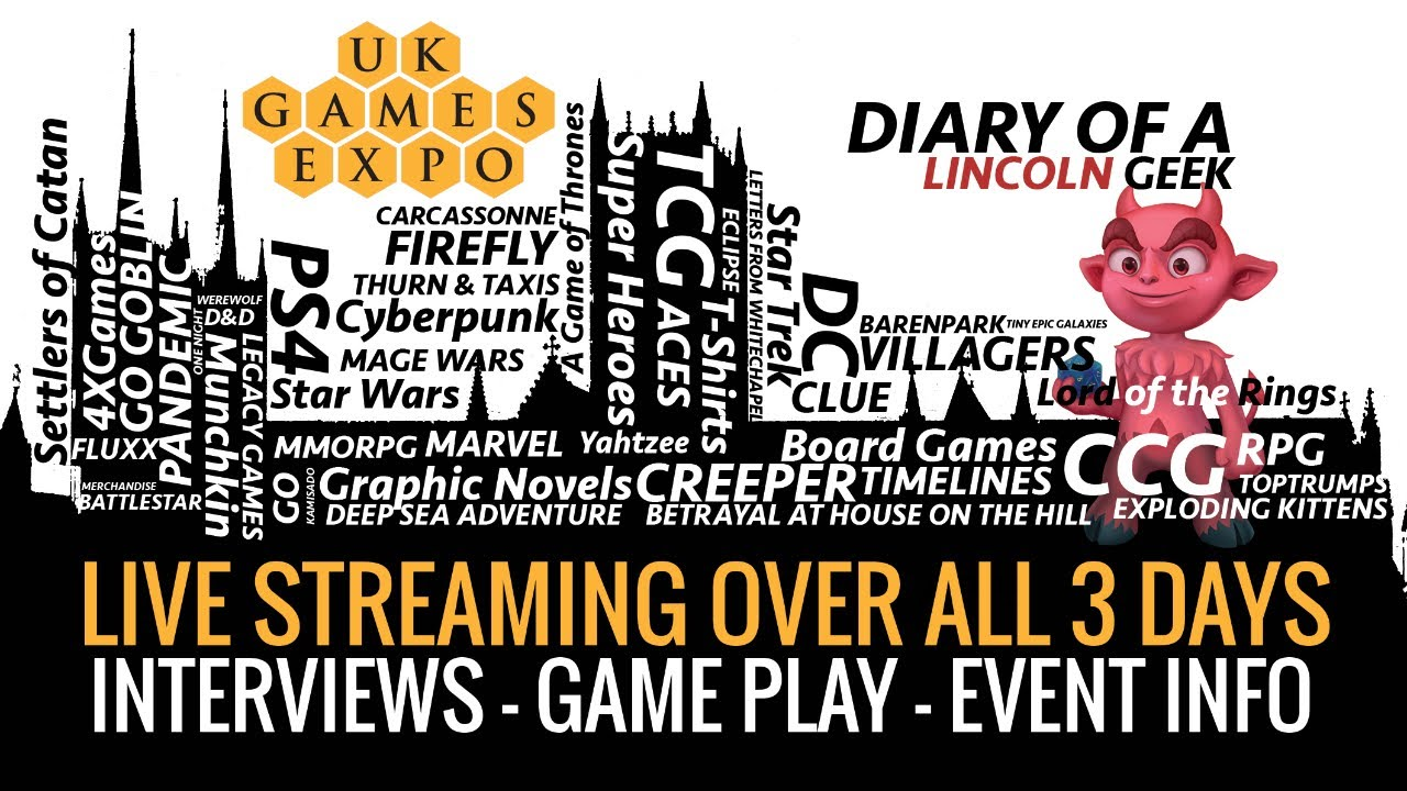 20 Live Streams - UKGE2021 not just a small feat?