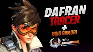 Dafran Tracer + Brig Armor! - Overwatch