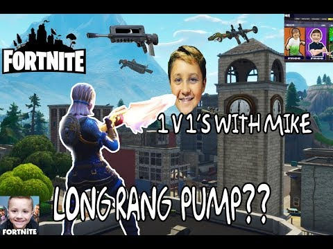 1V1's with mike and chase!! 20 kills!! gameplay w/ klipp the clutch! BUILD BATTLES!