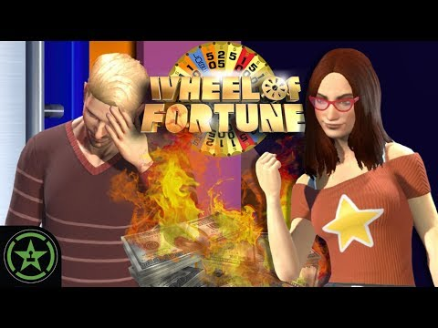 Let's Play - New Wheel of Fortune - Gavin Goes Bankrupt (Part 2)