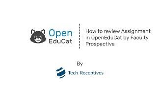 How to Review Assignment in OpenEduCat by faculty prospective
