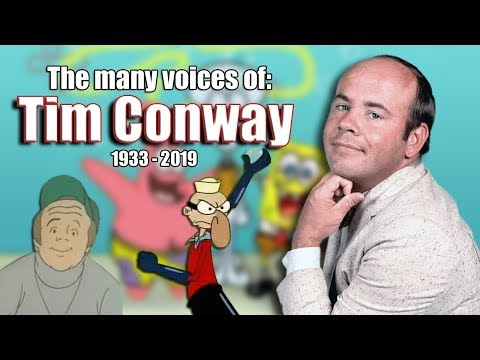 Many Voices of Tim Conway (Barnacle Boy / Scooby-Doo / Simpsons and MORE!)