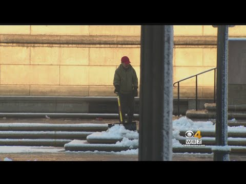 Boston Cleans Up After Overnight Snow