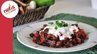 Yoğurtlu Kuru Patlıcan Salatası Nasıl Yapılır? | Patlıcan Salatası Tarifi