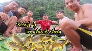 Bắt Cá Mát: Tập 2_Kinh Dị Ăn Gỏi Cá Sống