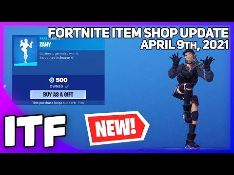 Fortnite Item Shop 16 *RARE* ITEMS + *NEW* VAULTED SHOP! [April 9th, 2021] (Fortnite Battle Royale) - I Talk