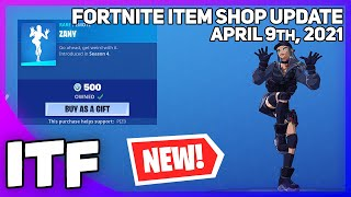 Fortnite Item Shop 16 *RARE* ITEMS + *NEW* VAULTED SHOP! [April 9th, 2021] (Fortnite Battle Royale)