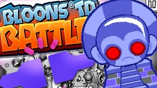 WHY YOU DISCONNECT! - Bloons TD Battles - Trying To Get Super Monkey Fan Club!
